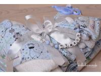 Maxi Kék Cuki-Safari Babakelengye csomag (10 db termék)