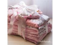 Rózsafehér Kerekerdő Meséi Maxi Babakelengye csomag (9 db termék)