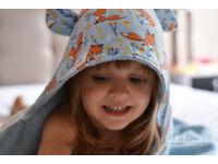 Kék Rókamóka KisgyermekTörölköző
