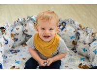 Erdei Állatok Hempergő babafészek (3in1)