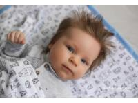 Menta-Fehér kerekerdő meséi Tavaszi KisgyermekPléd