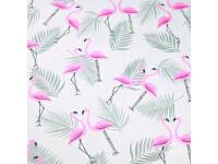 Flamingók ovis törölköző