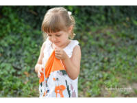 Erdei állatok ovis szett (narancssárga)