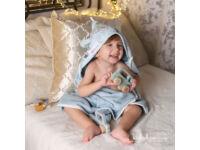 Kék Cuki Safari KisgyermekTörölköző