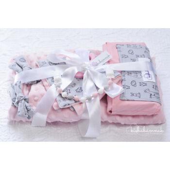 Midi Szürke-rózsaszín Kerekerdő Meséi csomag (4 db termék)