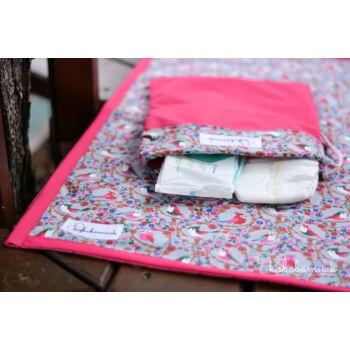 Pink Picinke-Cinke Hordozható Pelenkázó Alátét