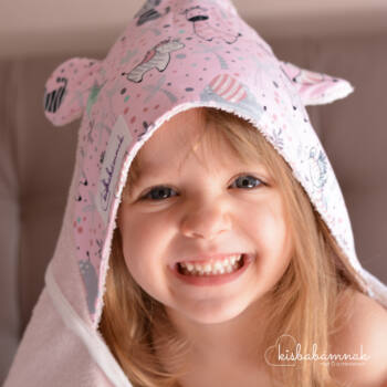 Rózsaszín Cuki Safari KisgyermekTörölköző