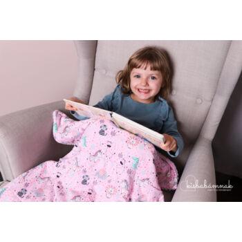 Rózsaszín Cuki Safari KisgyermekPléd