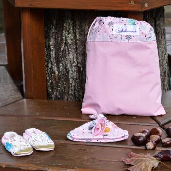 Rózsaszín Cuki Safari Rendszerető zsák