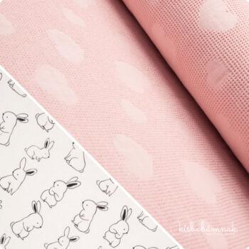 Rózsaszín Nyuszi-Hopp BabaTörölköző