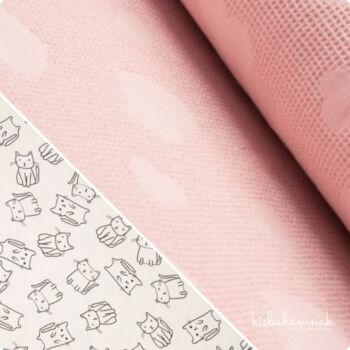 Rózsaszín Cicus BabaTörölköző