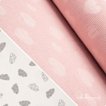 Rózsaszín Bárányfelhők BabaTörölköző