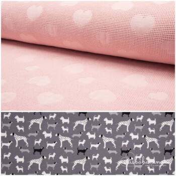 Rózsaszín 101 Kutyus Kapucnis StrandTörölköző