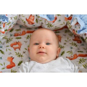 Rókás Hempergő babafészek (3in1)