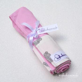 Rózsaszín bárányfelhők nyári lepel