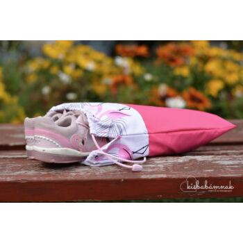 Flamingók cipőtartó zsák