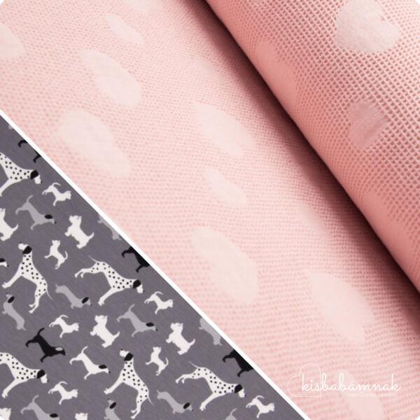 Rózsaszín 101 Kutyus BabaTörölköző